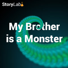 Cover for My Brother is a Monster e-book